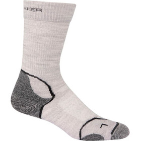 Icebreaker Hike+ Light Crew Socks Dame blizzard/white/oil
